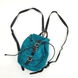 Vintage Roots Leather Mini Backpack